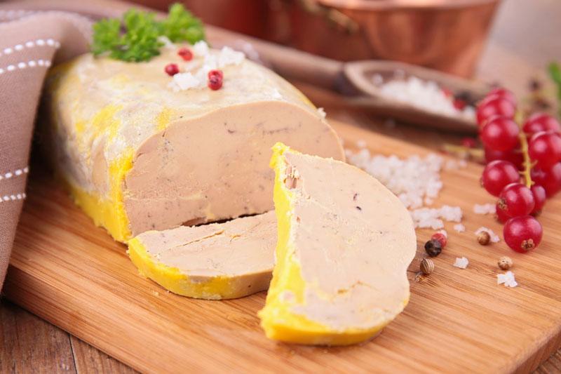 Le foie gras arrive, venez le déguster !