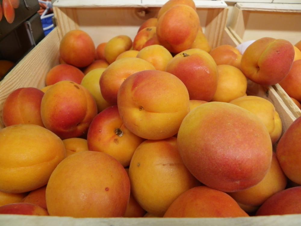 Abricots et nectarines